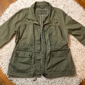 Army Green Fall Jacket